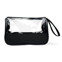 Borseta cosmetice, Item with multi-materials, black