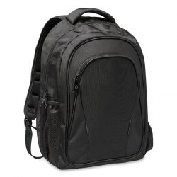 Rucsac pentru laptop, Polyester, black