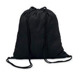 Sacosa din bumbac 100 gr/m2, c, Cotton, black