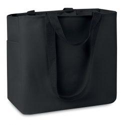 Geanta cumparaturi poliester 6, Polyester, black