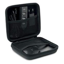 Set accesorii pentru calculato, Item with multi-materials, black