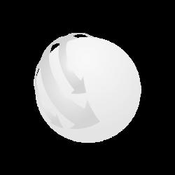 2 in 1 Baterie externa si lant, Plastic, white
