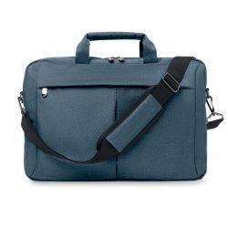 Geanta laptop 360D in 2 nuante, Polyester, blue