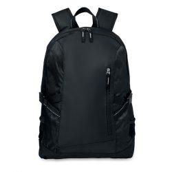 Rucsac poliester laptop, Polyester, black