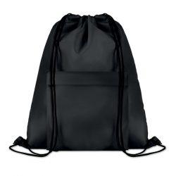 Sac mare cu cordon, Polyester, black