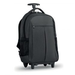 Trolley/rucsac 360D 2 nuante, Polyester, grey