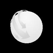 Boxa minge fotbal, ABS, white/black
