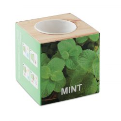 """Ghiveci lemn """"MINT"""", Item with multi-materials, wood"""