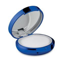 Oglinda balsam de buze, ABS, blue
