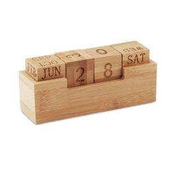 Calendar din bambus, Bamboo, wood