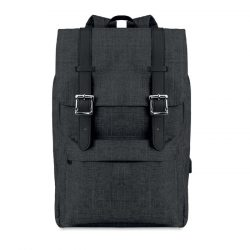 Rucsac 600D polyester, Polyester, black