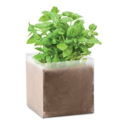 "Compost cu seminte ""BASIL"", Item with multi-materials, beige"