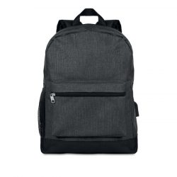 Rucsac anti-furt, 600D Polyester, black