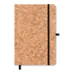 Notes A5 cu coperta din pluta, Item with multi-materials, black