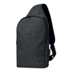 Bum bag in 2 tonuri de culoare, Polyester, black