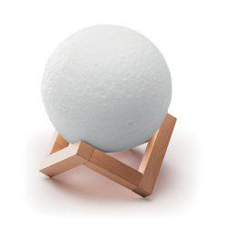 Boxa Wi-Fi in forma de Luna, Item with multi-materials, white