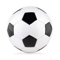 Minge mica de fotbal, PVC, white/black