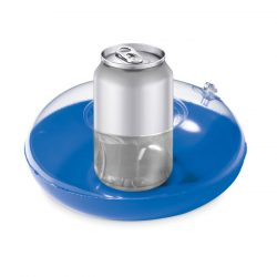 Suport gonflabil pentru pahar, PVC, blue