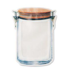 Punga mare de alimente in PET, Item with multi-materials, transparent