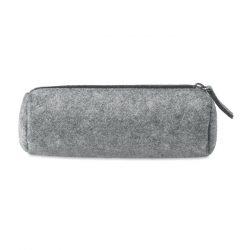 Penar din pasla cu fermoar, Fleece, grey