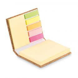 Notite cu coperta din pluta, Paper, beige