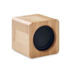 Boxa wireless bambus, Item with multi-materials, wood