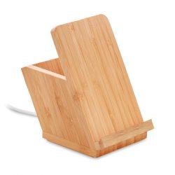 Penar cu incarcator wireless, Bamboo, wood