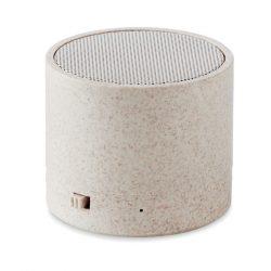 Boxa Wi-Fi in carcasa de paie, Item with multi-materials, beige