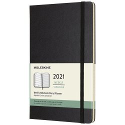 12M weekly L hard cover planner