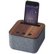 Shae fabric and wood Bluetooth® speaker