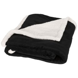 Lauren sherpa fleece plaid blanket