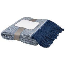Haven herringbone throw blanket