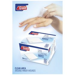Elisabeth 100 pieces cleansing wipes in box