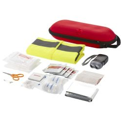 Handies 46-piece first aid kit and safety vest