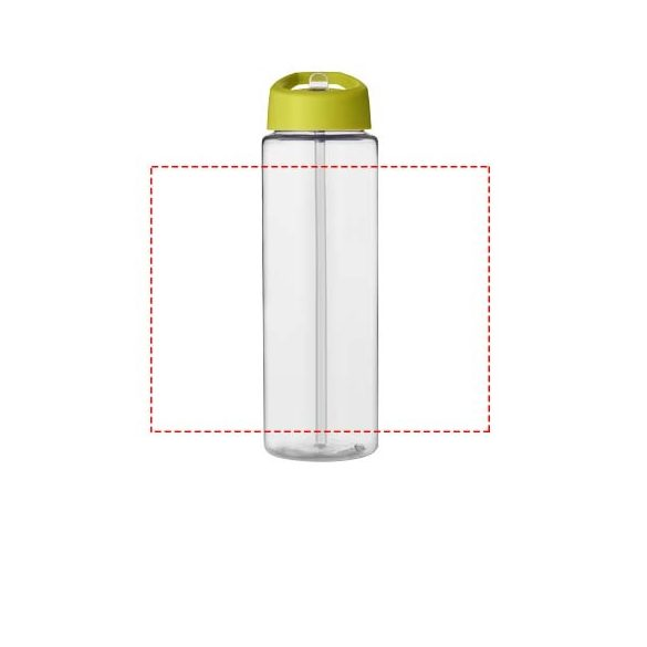 H2O Vibe 850 ml spout lid sport bottle