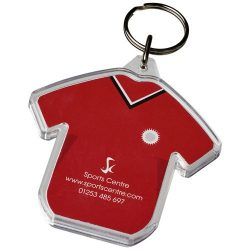 Combo t-shirt-shaped keychain