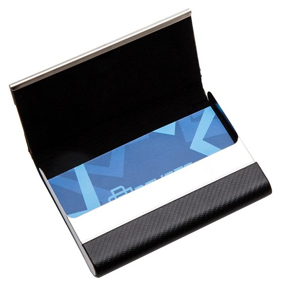 TWILLYS business card case,  black