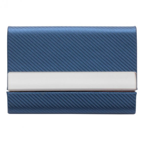 TWILLYS business card case,  blue