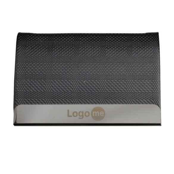 EMBOSS business card case,  black