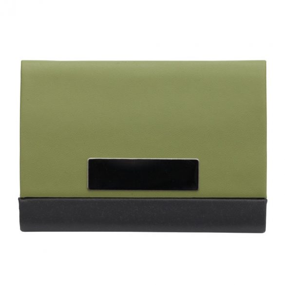 COMELY business card case,  green