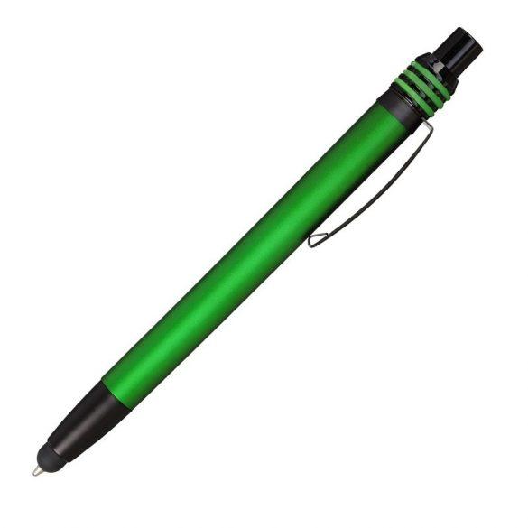TAMPA ballpoint pen with stylus,  green