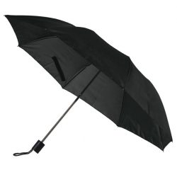 USTER folding umbrella,  black