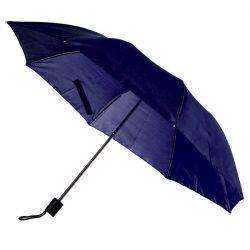 USTER folding umbrella,  dark blue