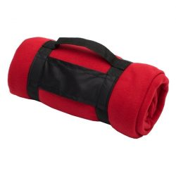 COOKOUT fleece blanket,  red