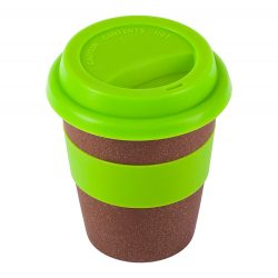 MANILA 352 ml bamboo mug, light green