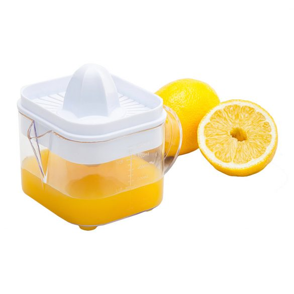 SQUEZZI citrus juicer with container,  white
