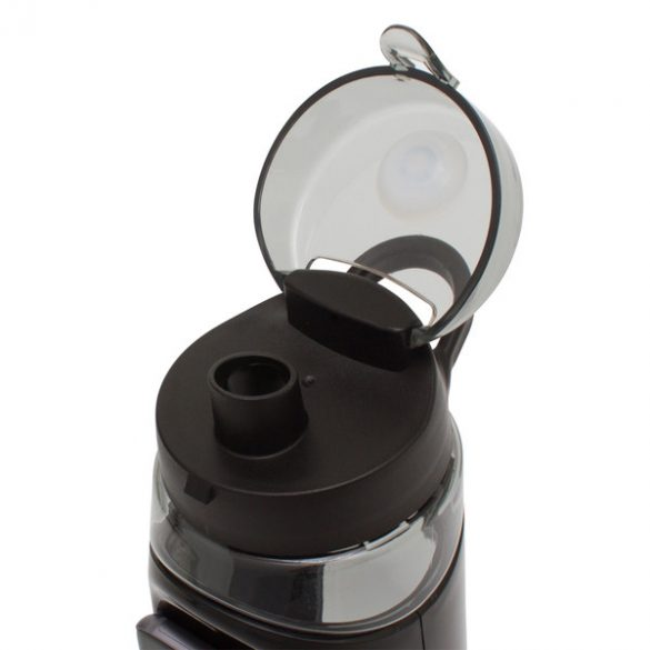 ALWAYS ON LINE sports bottle 850 ml,  black