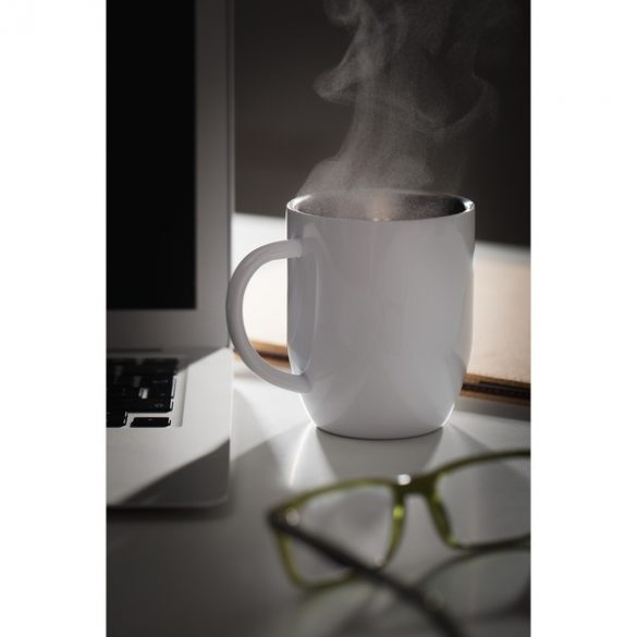 DAY stainless steel thermo mug 380 ml,  white