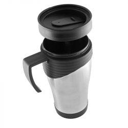 ODENSE thermo mug 400 ml,  silver