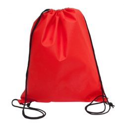NEW WAY drawstring backpack,  red